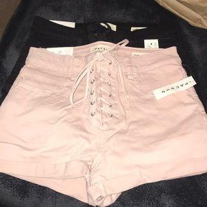 Two super cute summer shorts